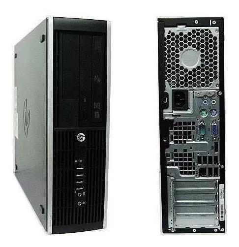 Cpu Hp Elite 8000 E8400 4gb Hd 80 Ddr3 + Monitor 17