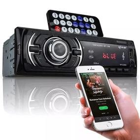 Rádio Player Mp3 Knup 60x4 Potente Entrada P/ Fone Blue Usb