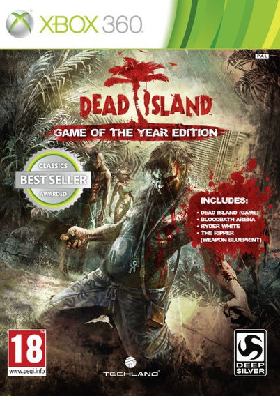 Dead Island - Xbox 360 Goty - Mídia Física