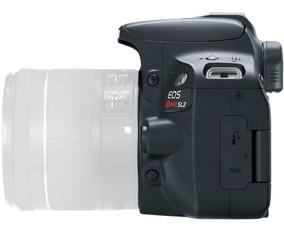 Nova Câmera Canon Sl2 Corpo C/ Nf-e 1 Ano Gar. Revenda Canon