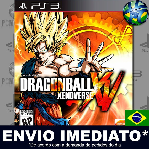 Dragon Ball Xenoverse Ps3 Psn Legendas Português Br Play 3