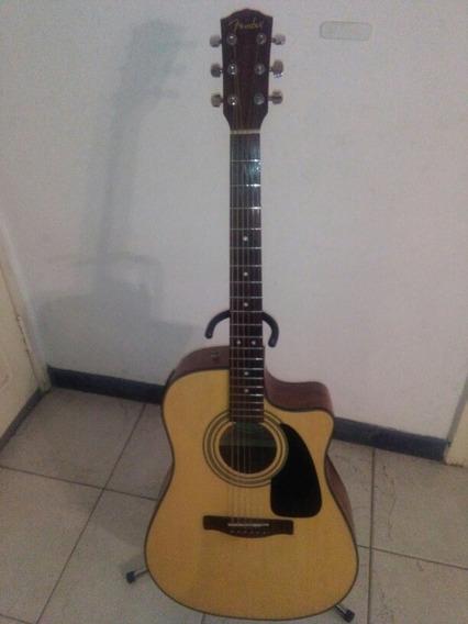 Guitarra Fender Electroacustica Cd 100, Ce. Color Natural
