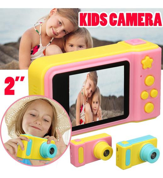 Câmera Digital Para Crianças 2.0 Hd 1080p Câmera De Víde