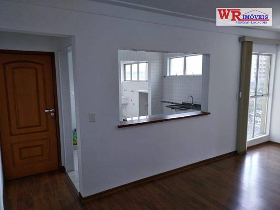 Apartamento Com 2 Dormitórios Para Alugar, 67 M² Por R$ 880,00/mês + Despesas - Centro - São Bernardo Do Campo/sp - Ap2351