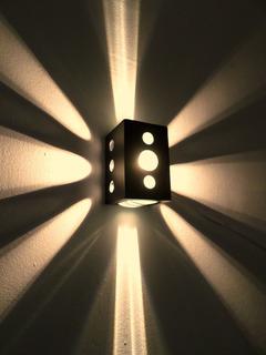 Difusor Efectos 2 Lupas Exterior C/ Lampara Led 10w Pack X3u