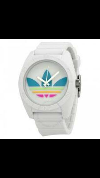 Kit 6 Relógios Emborrachado Redondo Modelo Adh2655z Promoção