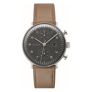 Junghans Max Bill Chronoscope Mens Reloj Automatico 02745010
