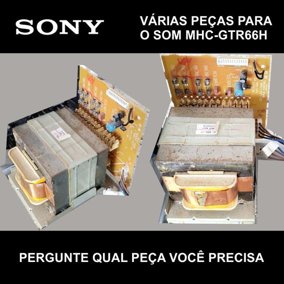 Placa Fonte Transformador Sony Mhc Gtr66h Gtr66 Gtr88h Gtr88