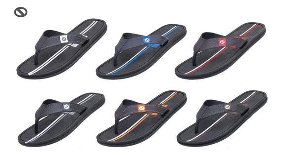 Kit 12 Sandálias Chinelas Masulinas Tipo Havaianas Revender