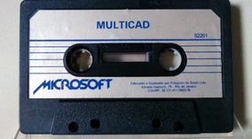 Fita Cassete Multi Cad E Editor Microsoft Original Linha Tk