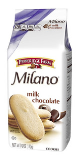 Biscoito Milano Chocolate Ao Leite 170g