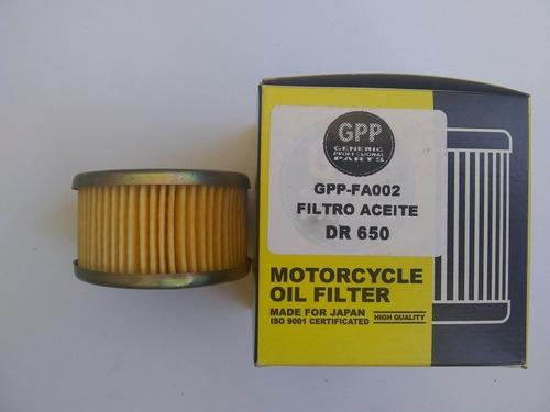 Filtro De Aceite De Dr650 Marca Gpp