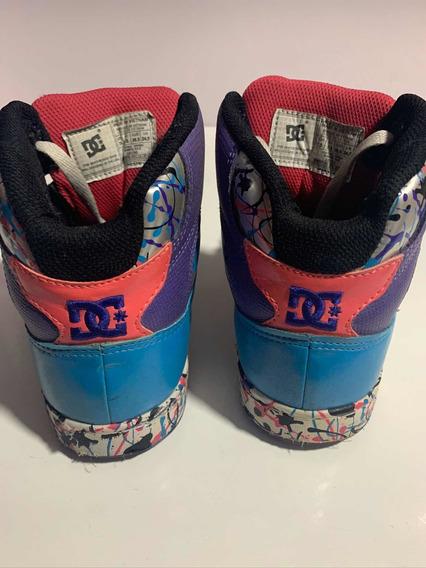 Zapatillas Dc - Importadas - Talla 24,5 - Mujer
