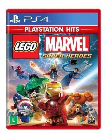 Lego Marvel Super Heroes Ps4 - Mídia Física Lacrado
