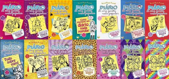 Coleção Diário De Uma Garota Nada Popular 14 Livros