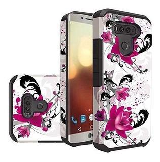 Estuche Inalámbrico Para Teléfono Celular Hr Para LG G6 - Pu