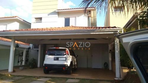 Imagem 1 de 15 de Casa Residencial À Venda, Jardim Residencial Das Palmeiras, Rio Claro. - Ca0162