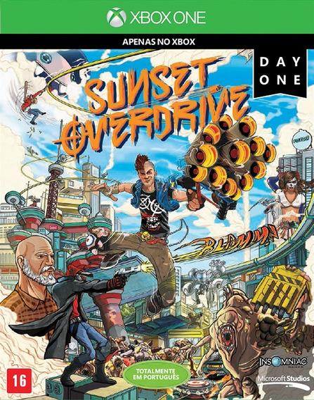 Sunset Overdrive Day One 100% Português Física Seminovo