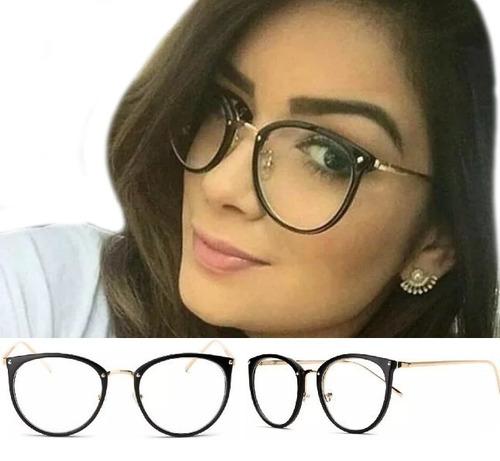 9da901a46 Óculos De Grau Feminino Armação Em Acetato Geek Vintage Gato