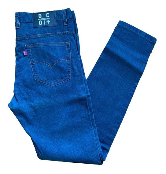 Pantalon De Jean Chupin Elastizado Hombre