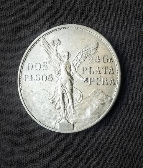 Moneda 2 Pesos Año 1921
