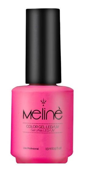 Esmalte Color Gel Uvled Semipermanente Meline