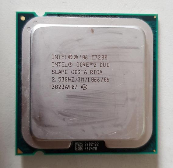 Processador 775 Intel Core 2 Duo E7200 2,53 Usado Ref: 01502