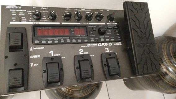 Pedaleira Zoom Gfx-5 Gfx5 + Fonte Super Conservada