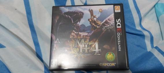 Monster Hunter 4 Japonês 3ds Completo