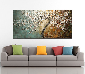 Quadro Abstrato Moderno 100x200cm Pronto Para Pendurar