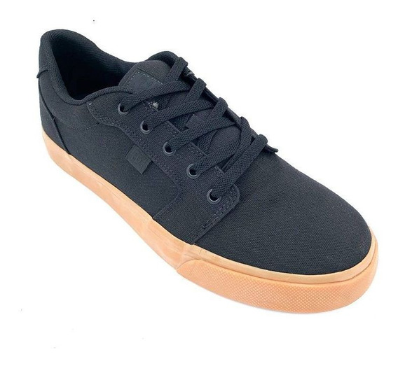 Tenis Dc Shoes Anvil Tx La Preto/caramelo 320040
