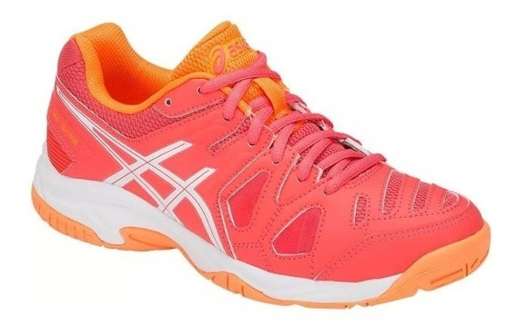 Tenis Asics Gel Game 5 Gs Coral - Infantil