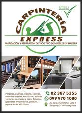Carpinteria Express Ponemos A Disposición Los Servicios