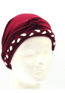 Turbantes Oncològicos Puro Algodòn Con Vincha Combinable