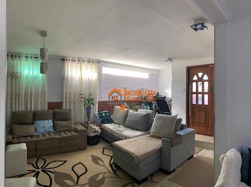 Sobrado Com 3 Dormitórios À Venda, 171 M² Por R$ 766.080,00 - Jardim Bela Vista - Guarulhos/sp - So0713