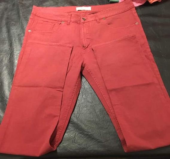 Pantalon Tipo Jean Hombre Lacoste Impecable. Color.