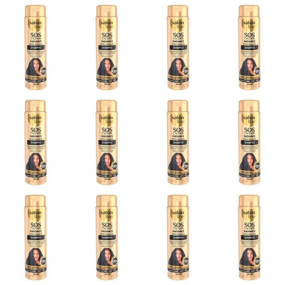 Salon Line Sos Cachos Sh Radiance Brilho Ab 300ml (kit C/12)