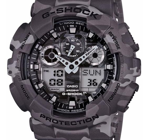 Relógio Casio G-shock Ga-100 Ga100 1a1