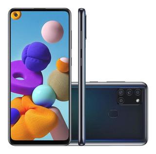 Smartphone Samsung Galaxy A21s Tela 6,5 64gb 4gb Ram