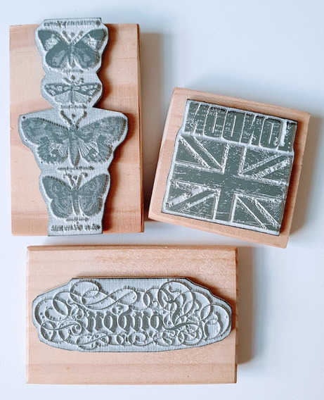 Sellos Decorativos Set Londres Laura Craft