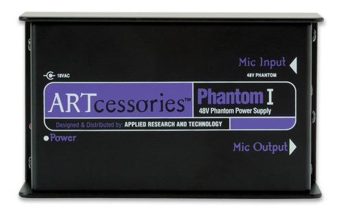 Fuente De Alimentacion Microfonos Condenser Art Phantom 1