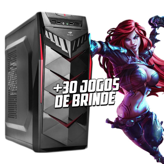 Cpu Gamer Intel/ Core I5/ 8gb/ 1tb/ Geforce 2gb / + 30 Jogos