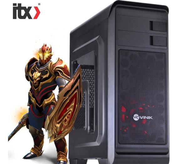 Pc Só Pc Gamer K45 Pentium G4560 (gtx 1050) 8gb Ddr4