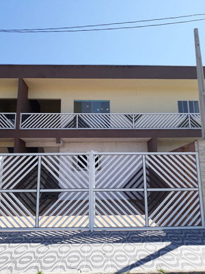 Casa 2 Quartos Lado Praia Em Itanhaém!