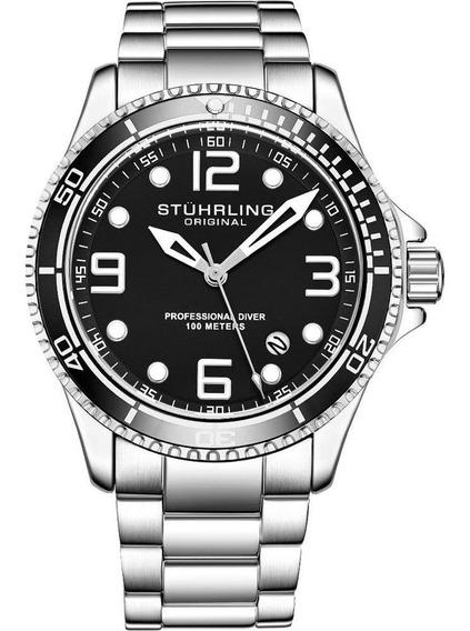 Relógio Stuhrling - Aquadiver Caballero Quartzo