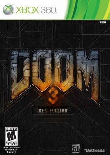 Microsoft Xbox 360 Doom 3 Bfg Edition Con Doom Poster Inclui