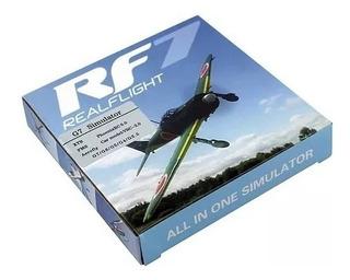 Simulador Aeromodelismo Para Rc Futaba Y Otros Rf7 Para Pc