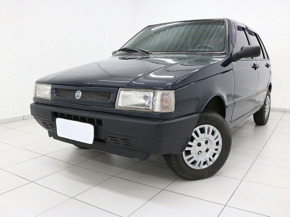 Fiat Uno Mille Fire 1.0 Azul 8v Gasolina 4p 2003