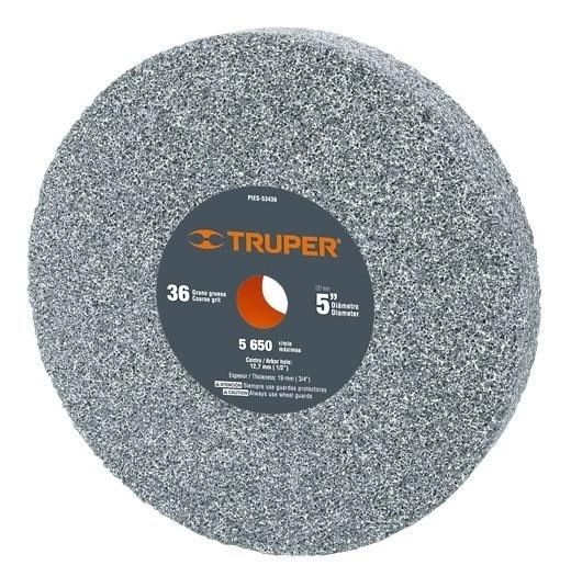 Piedra Para Esmeril Óxido De Aluminio 5 Pulg Pies-53436 Tpr