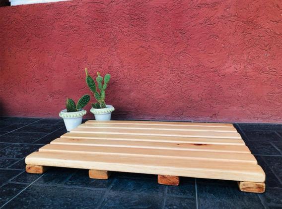 Baldosa Madera Deck Exterior 50x35 Eucaliptus Grandis Natur